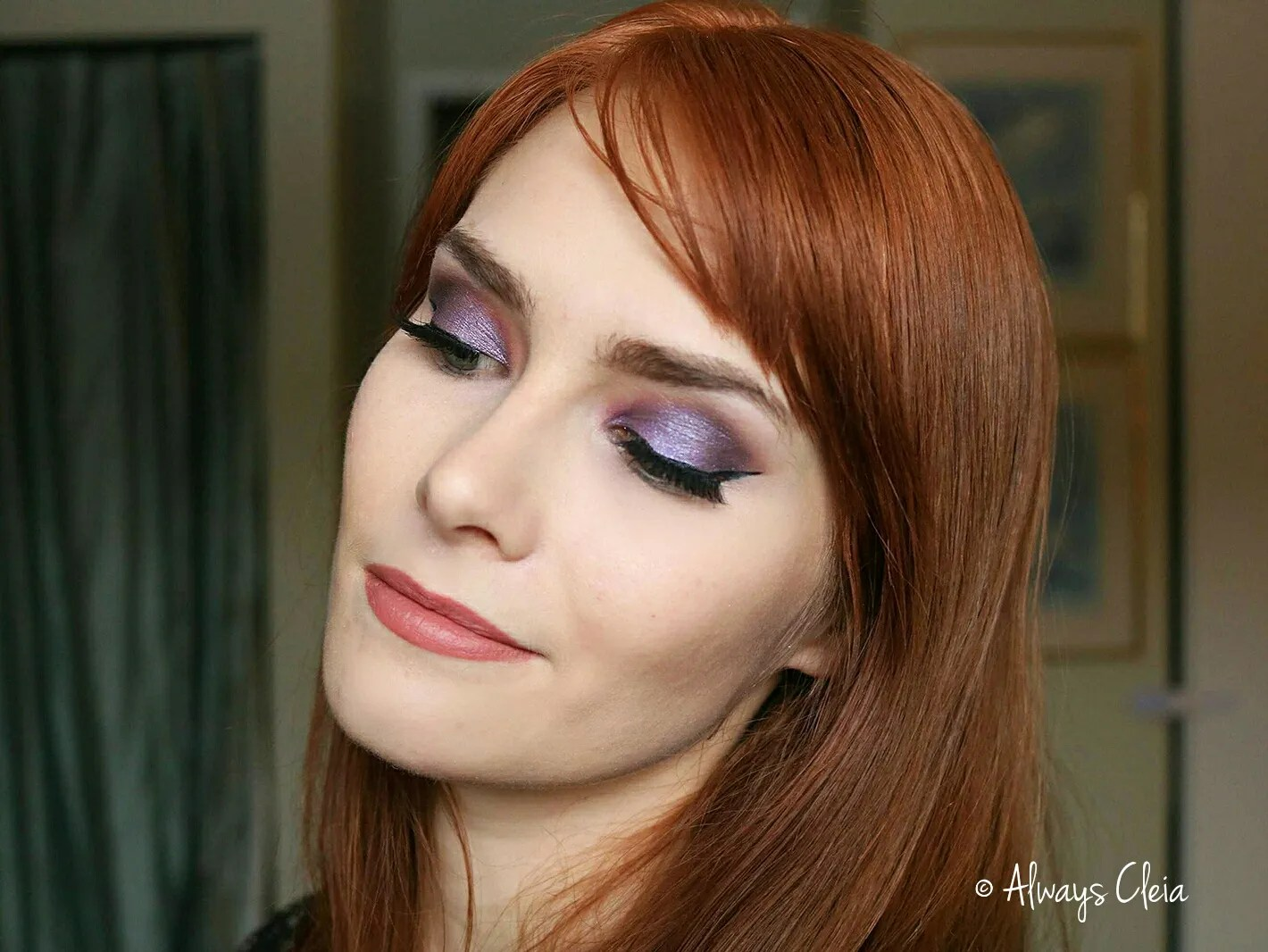 Purple Glam Holiday Makeup Tutorial