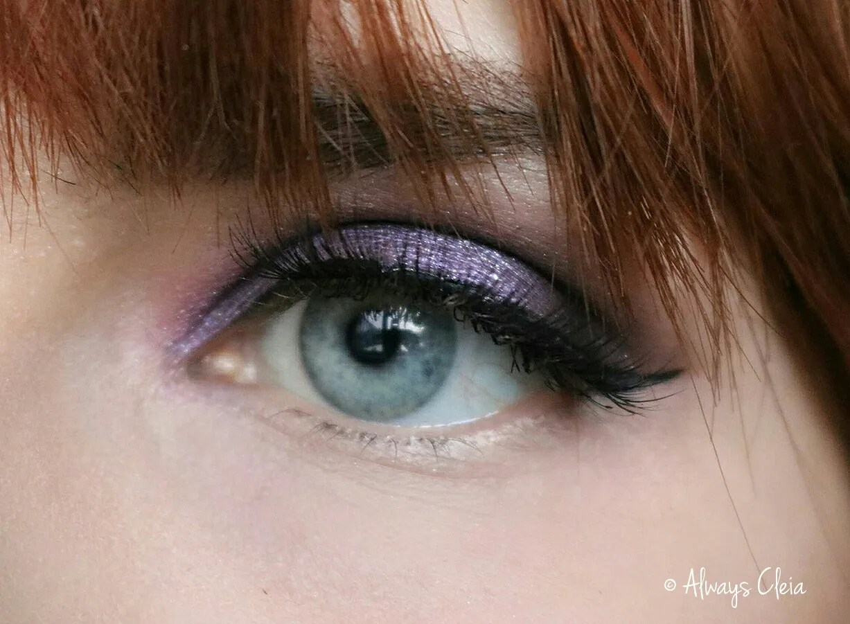 Purple Glam Eyeshadow Tutorial