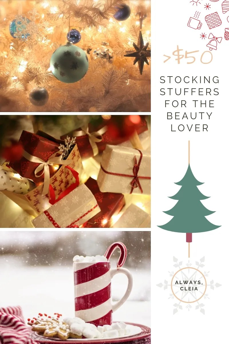 Stocking Stuffers for the Beauty Lover | Gifts under $50