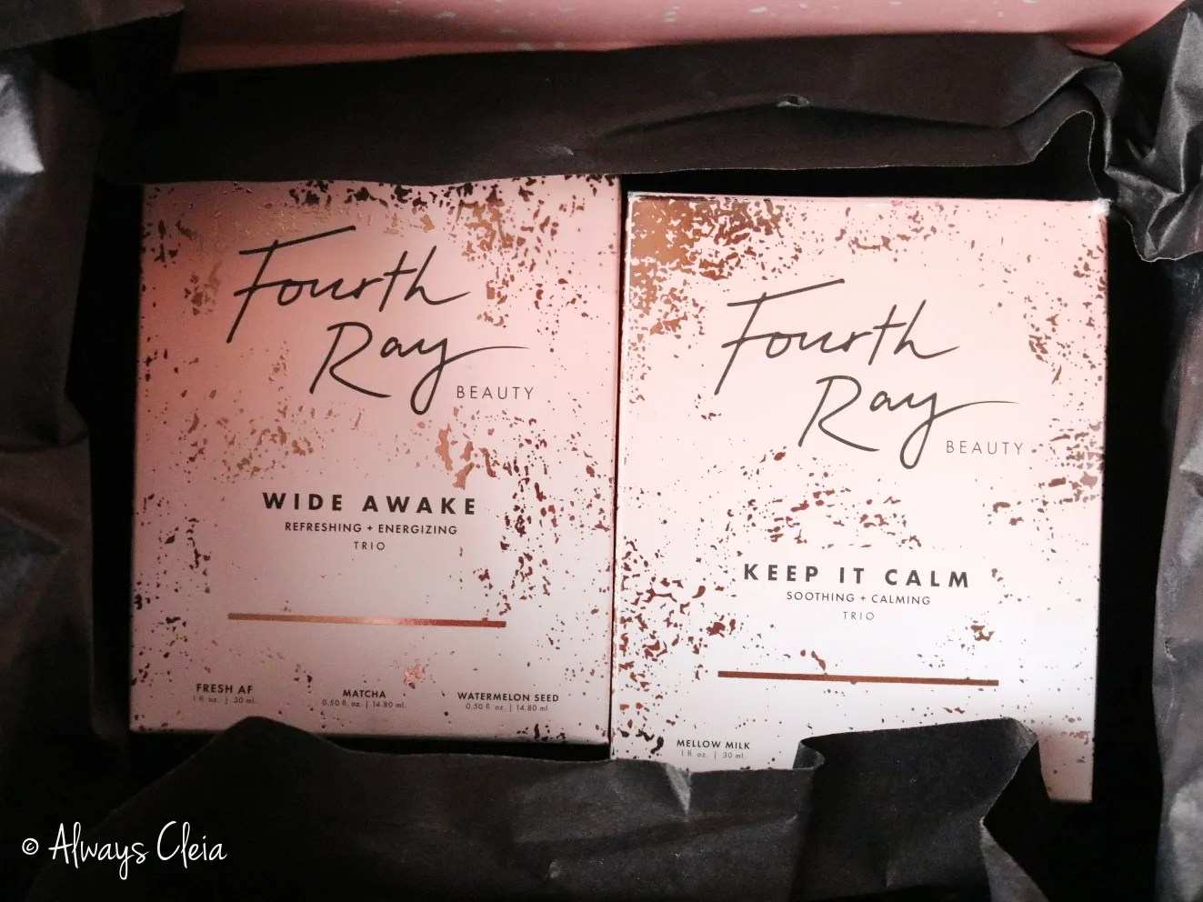 Fourth Ray Beauty Haul Packaging