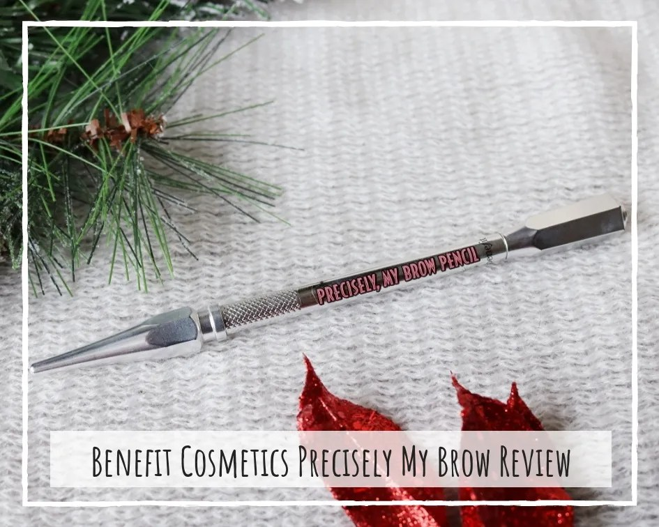 Benefit Cosmetics Precisely My Brow Pencil Review
