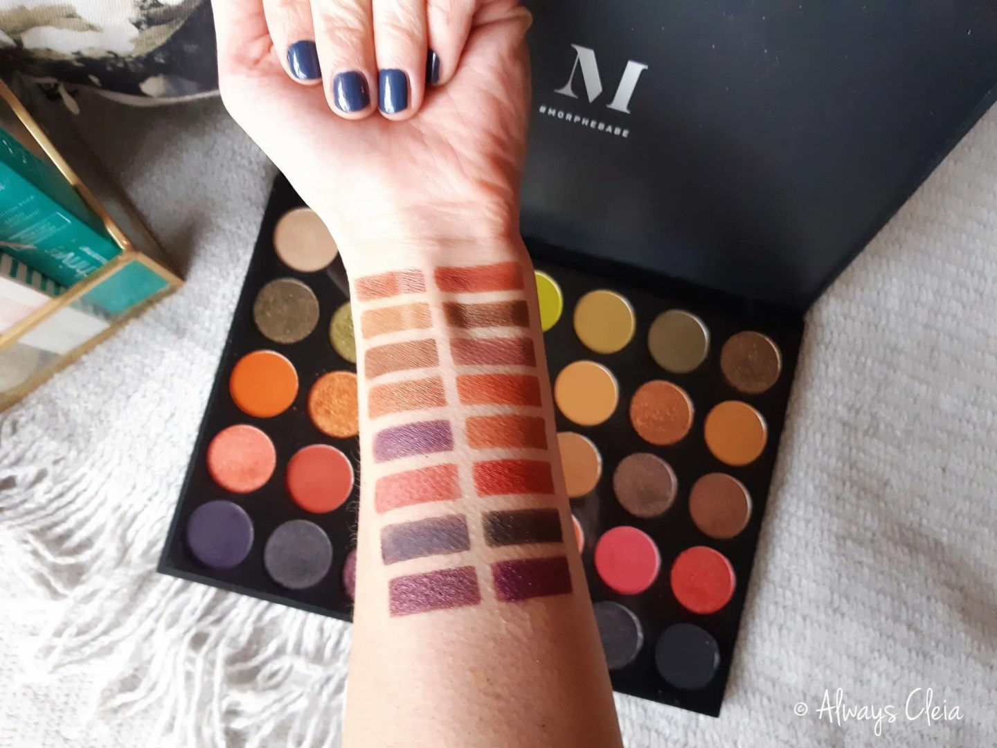 35M Boss Mood Artistry Swatches