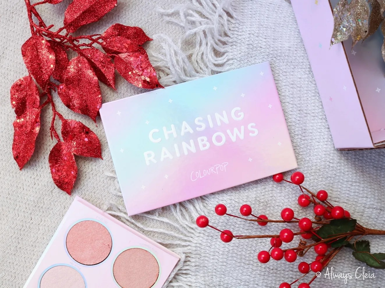 ColourPop Chasing Rainbows Packaging