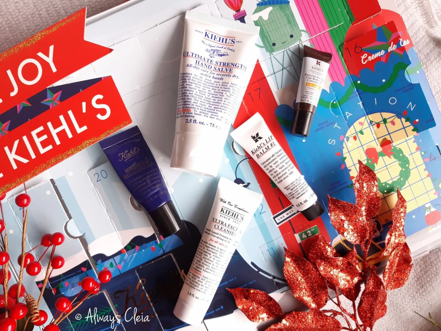 2018 Kiehls Advent Calendar Favorites
