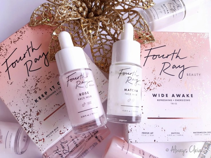 Fourth Ray Beauty Rose Face Milk & Matcha Face Milk