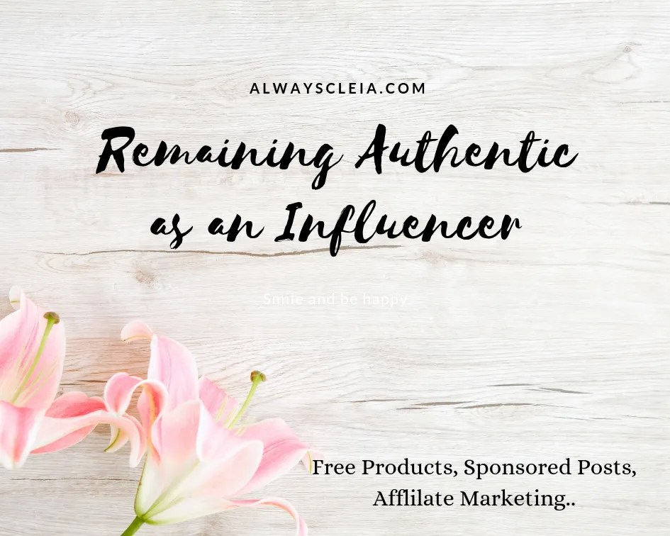 Remaining Authentic as an Influencer