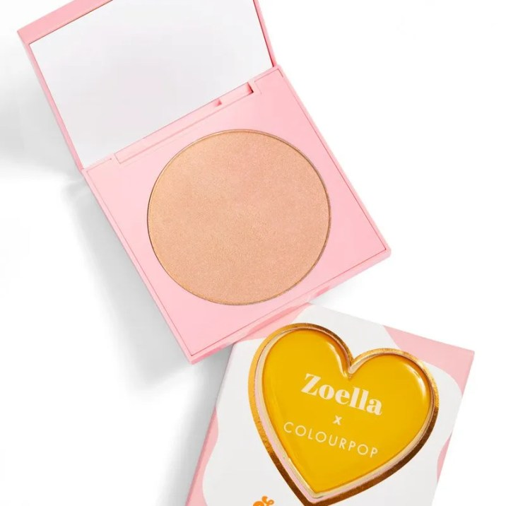 ColourPop x Zoella Brunch Date | Swipe Right Highlighter