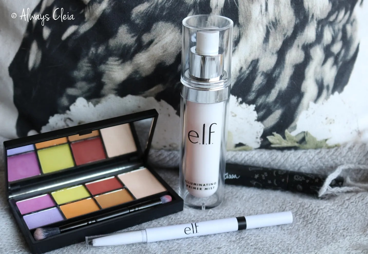 ELF Hydrating Primer Spray & Instant Lift Brow Pencil
