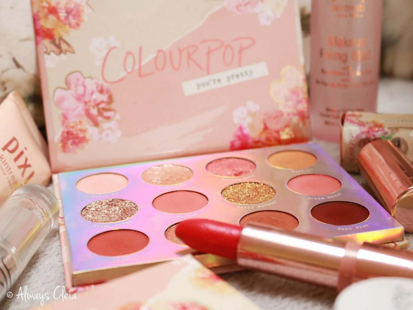 April Favourites | ColourPop Sweet Talk Palette & Flower SZN Lux Lipstick