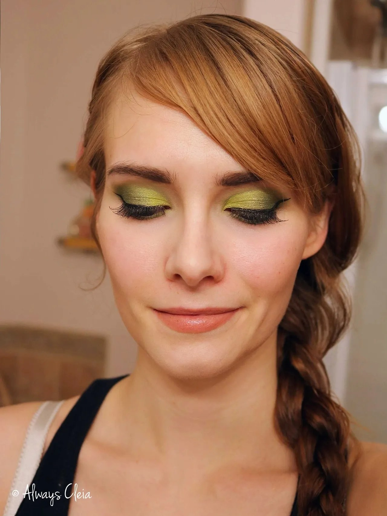Just My Luck Palette Mary Jane Makeup Look
