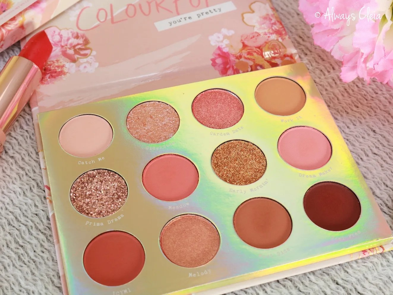 Sweet Talk Palette Color Story