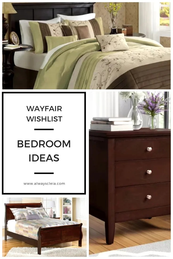 Wayfair Wishlist Bedroom Ideas