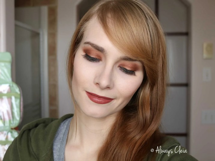 Natural Bronze Makeup