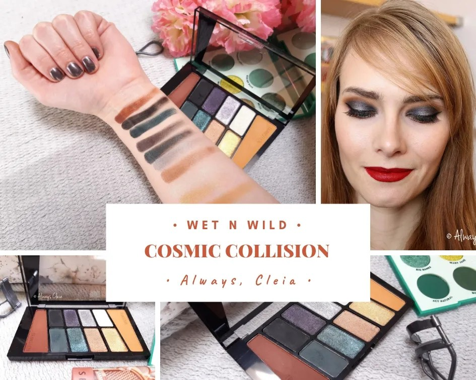 Wet N Wild Cosmic Collision Color Icon Palette Review + 3 Looks