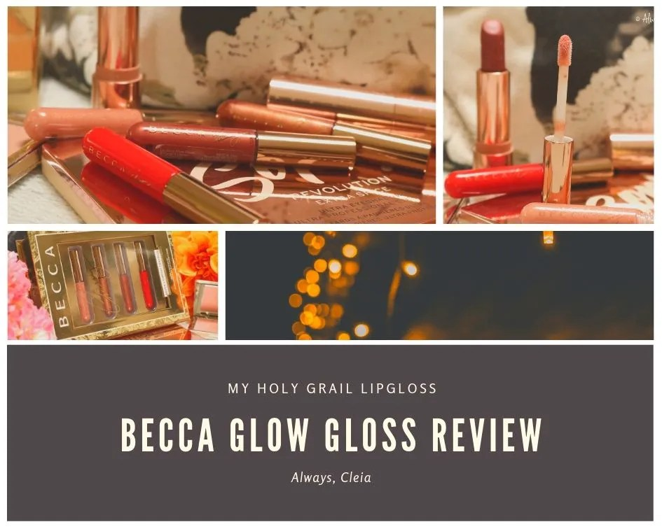 Becca Cosmetics Glow Lip Gloss Review