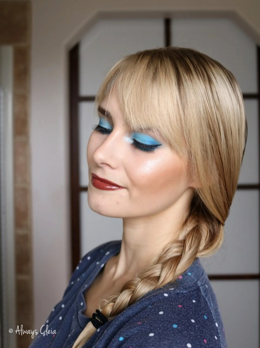 Do You Want To Build A Snowman Makeup Look