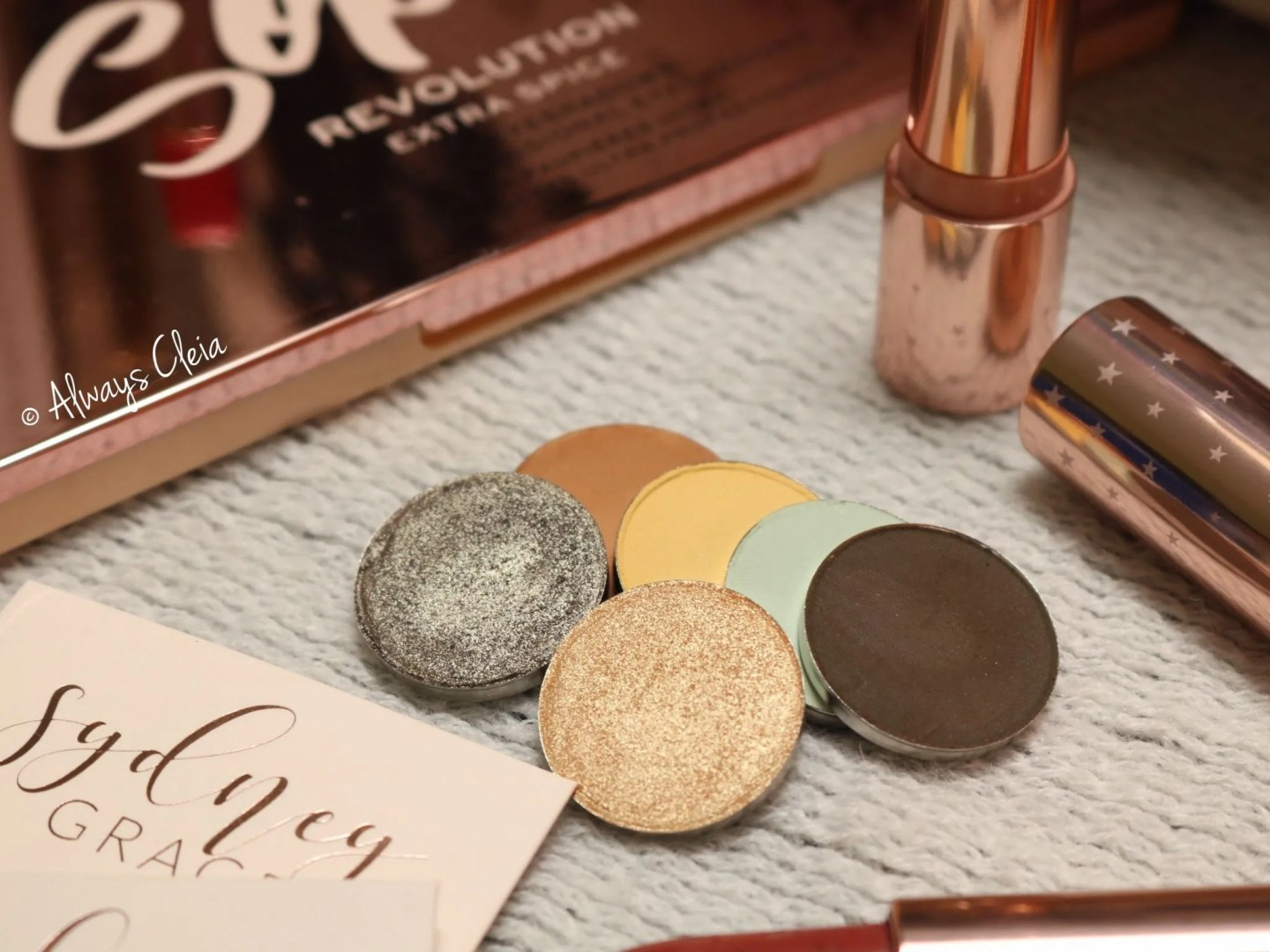 Sydney Grace Cosmetics Eyeshadow Singles Review
