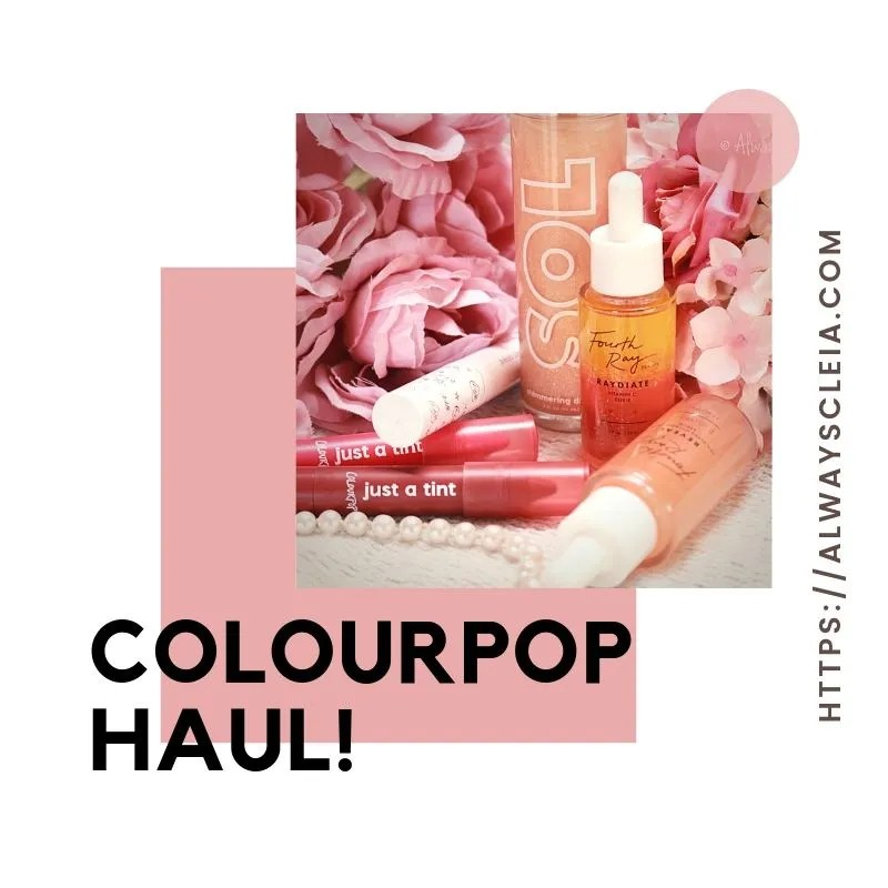 Sol Body, Fourth Ray Beauty & ColourPop Haul