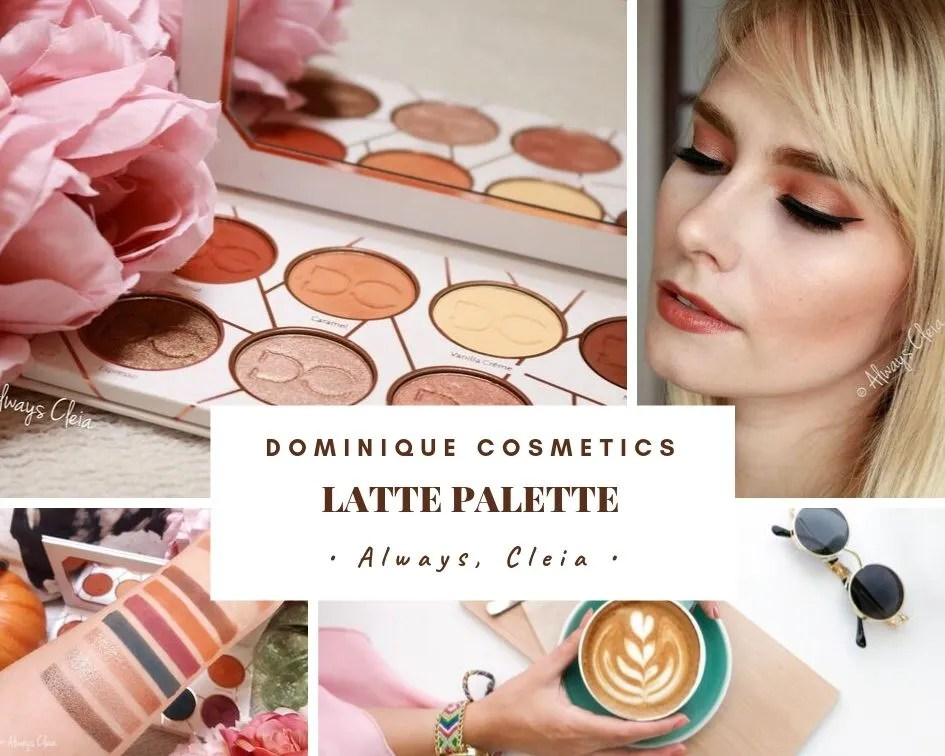 Dominique Cosmetics Latte Palette Review + 3 Looks | The Perfect Fall Palette