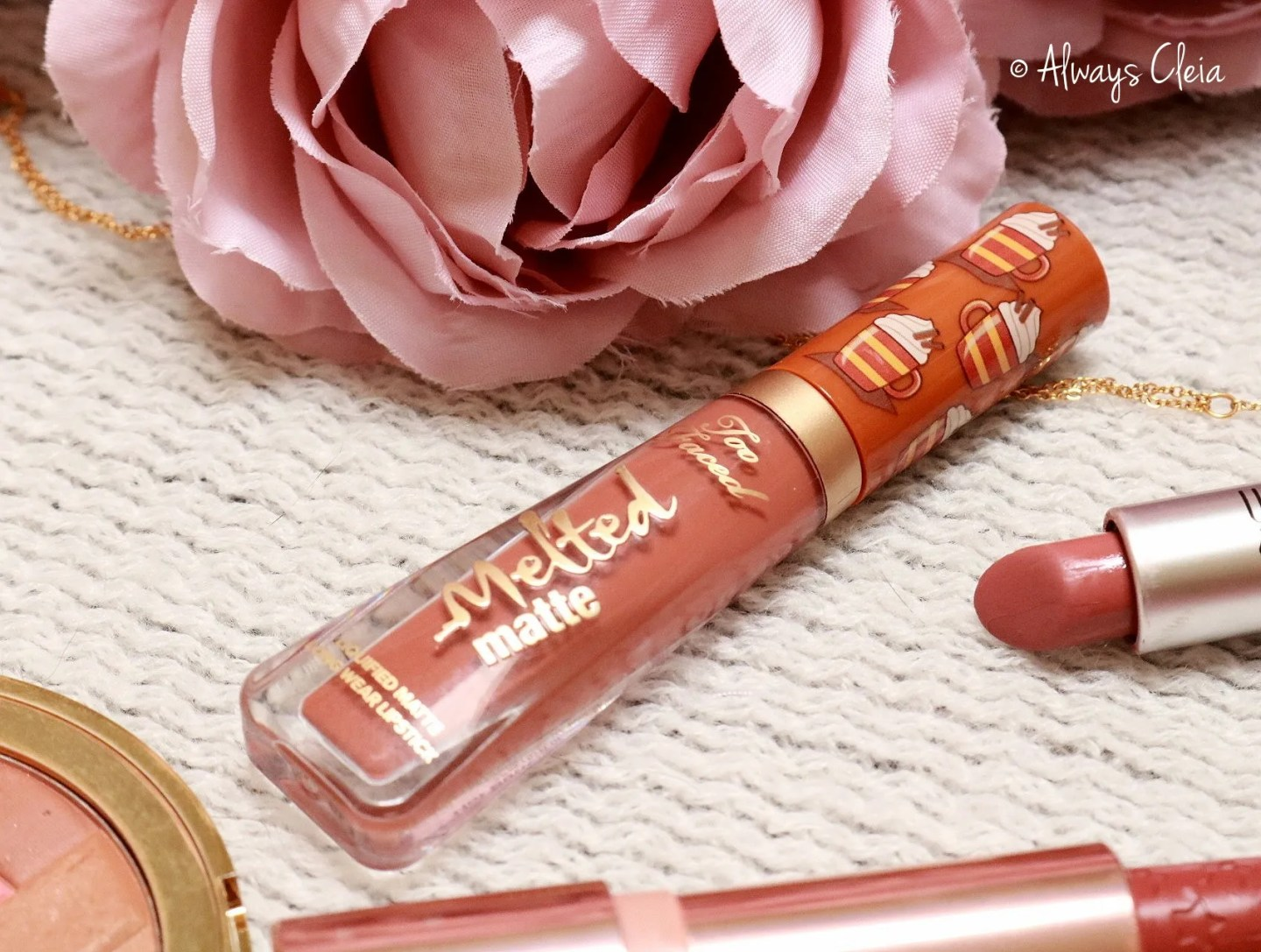 Too Faced Hot Buttered Rum Mini Melted Lipstick