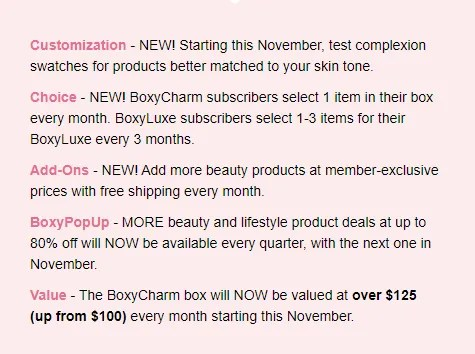 boxycharm changes