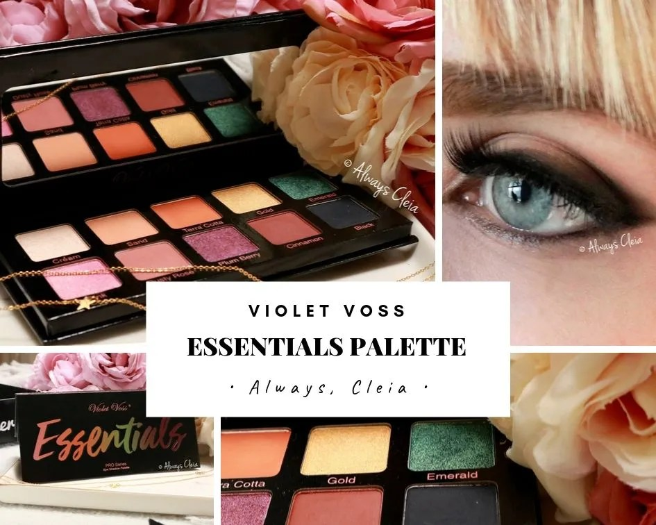 Violet Voss Essentials Palette | 3 Looks & review