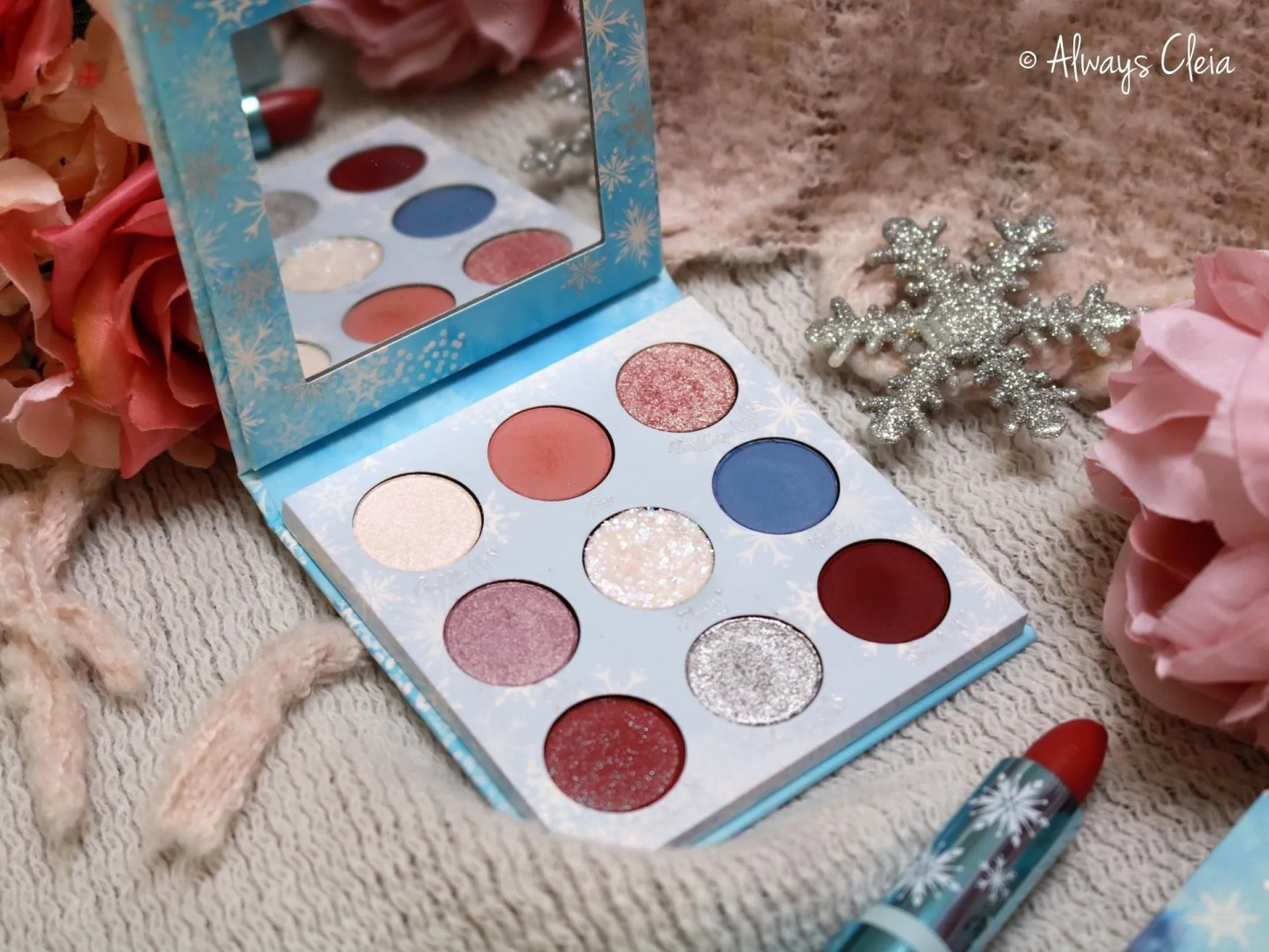 Frozen II Makeup - ColourPop Elsa Palette
