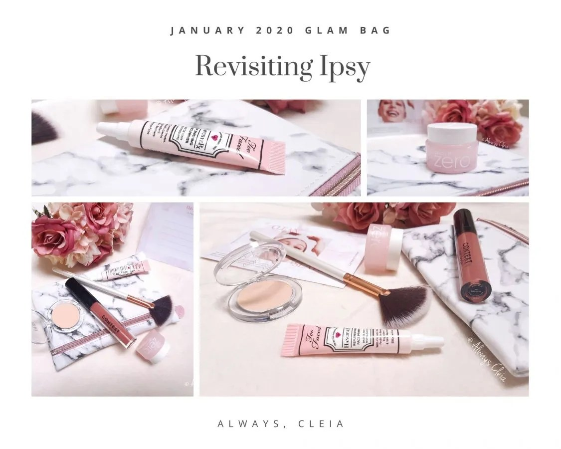 Revisiting Ipsy: The 2020 January Ipsy Glam Bag