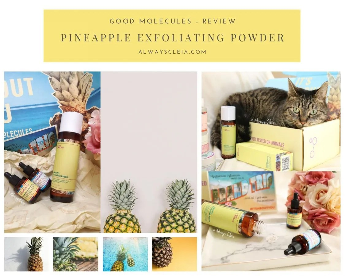 GOOD MOLECULES PINEAPPLE EXFOLIATING POWDER REVIEW