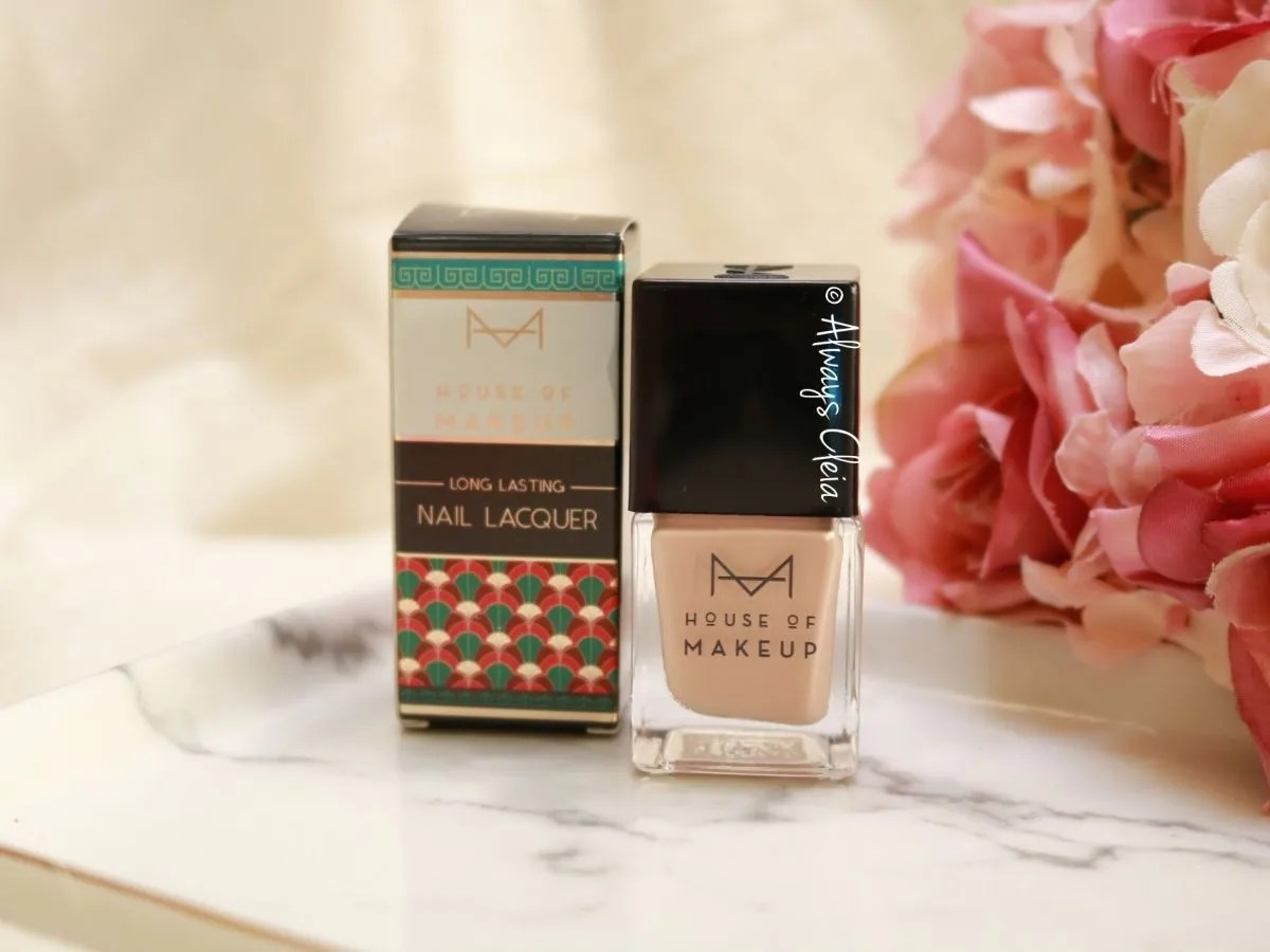 House of Makeup Nail Polish Flat White