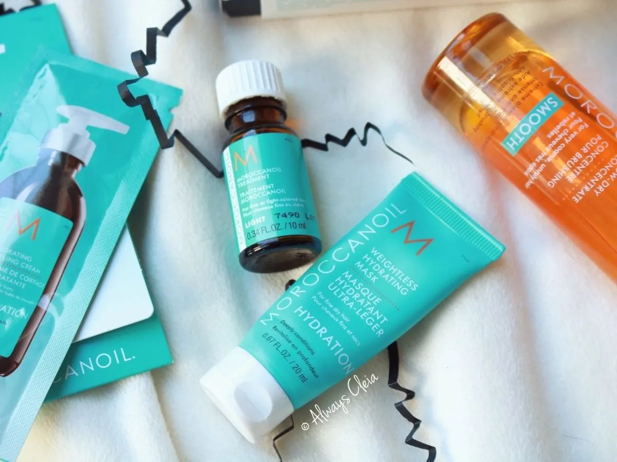 Moroccan Oil Treatment Light + Weightless Hair Mask