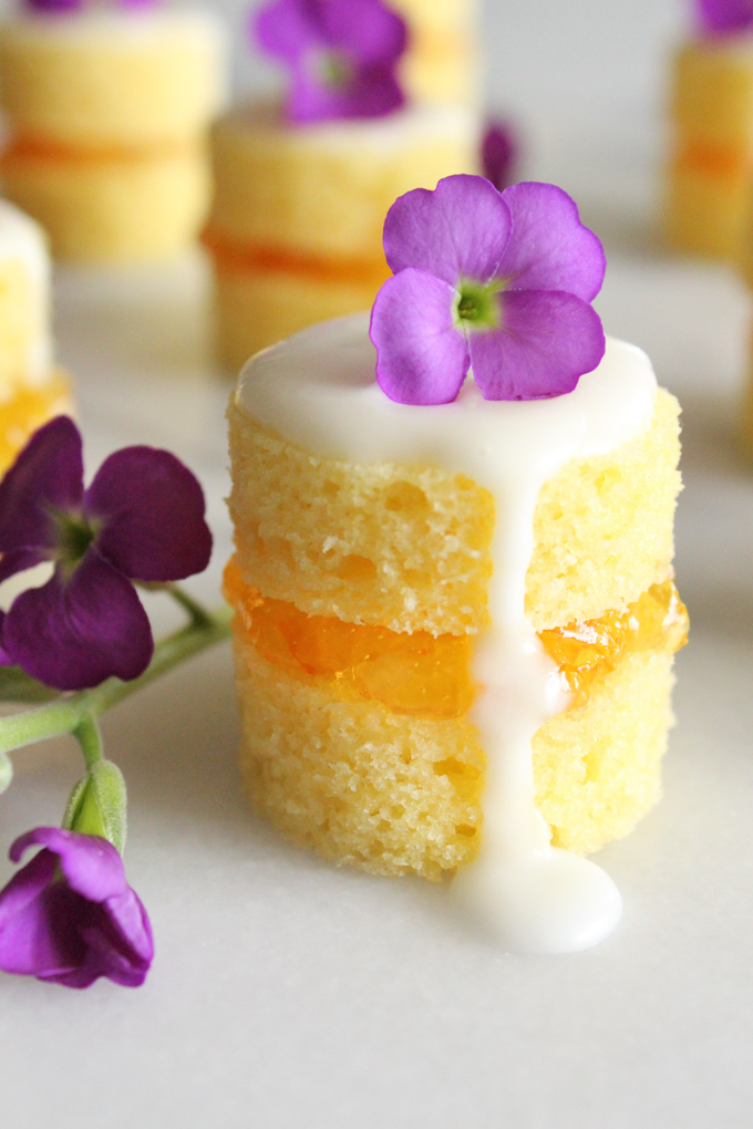 Mini Naked Cakes With Sweet Orange Marmalade Always Eat