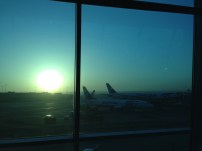 The airport view