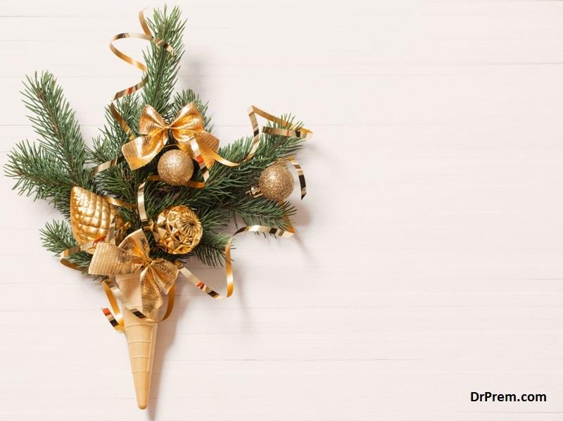 Christmas tree inspired waffles