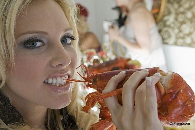 eat sea food