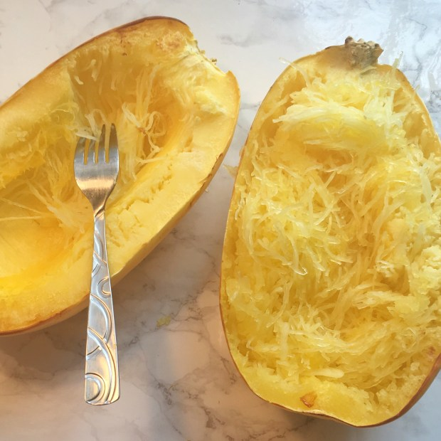 Spaghetti Squash Cooked Shredded