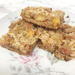 Paleo Apple Shortbread Crumble Dessert Recipe