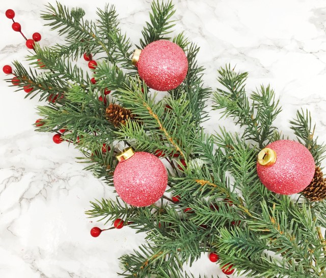 Glitter Christmas Ornaments 04