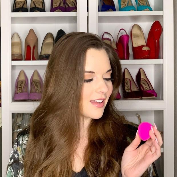Hot pink original beauty blender review