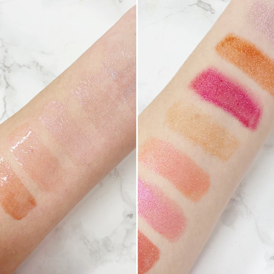 Pat McGrath Labs OpuLUST Gloss Review - Lust gloss vs opulust gloss swatches