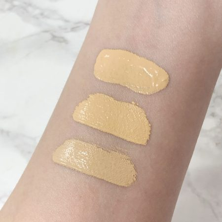 Pat McGrath Labs Concealer in L6 and LM8 compared to Pat McGrath Labs foundation in LM8