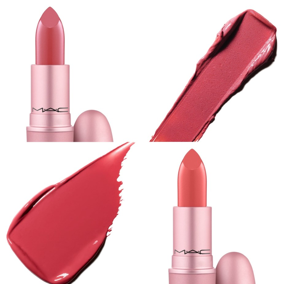 MAC Cosmetics Petal Power Collection Lipstick See Sheer and Skew