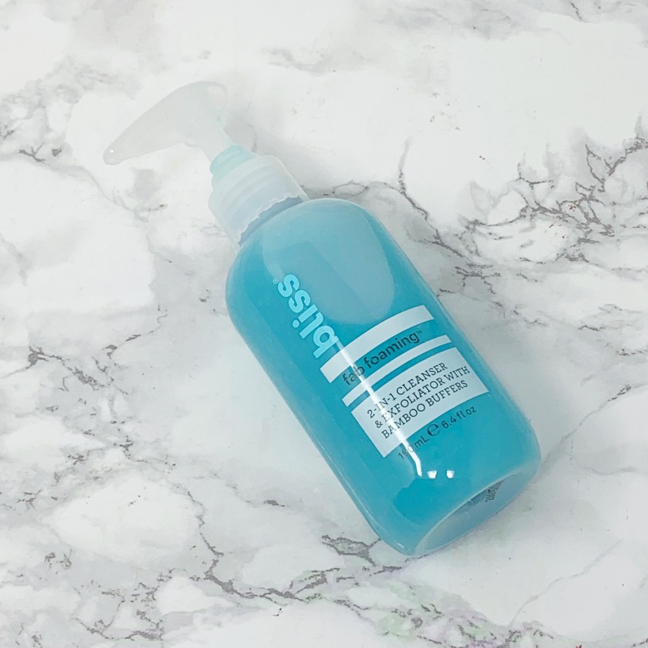 Bliss Fab Foaming 2 in 1 Cleanser Review