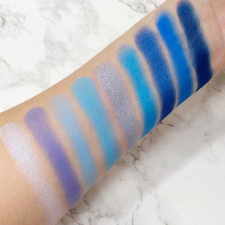 Colourpop Blue Moon Swatches