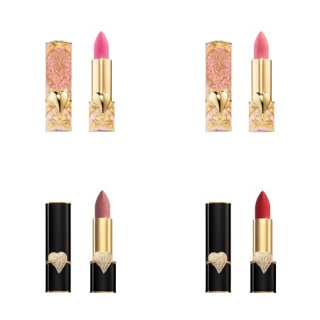 Pat McGrath Labs Holiday 2020 Celestial Divinity Mattetrance Lipstick - Amour, Divine Romance, Omi, Elson