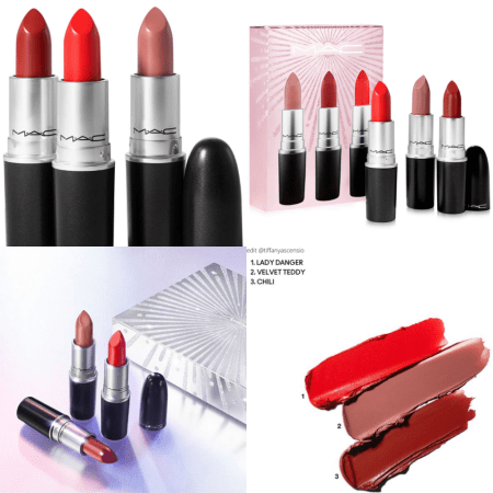 MAC Cosmetics Holiday 2020 Macys mini lipstick kit