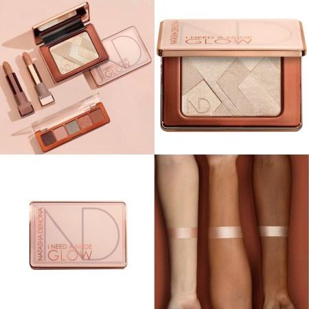 Natasha Denona Holiday 2020 Collection I Need A Nude Glow Highlighter Swatches