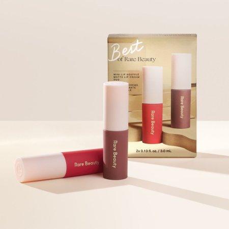 Rare Beauty Holiday Collection 2020 - Best of Rare Beauty Mini Lip Soufflé Matte Lip Cream Duo