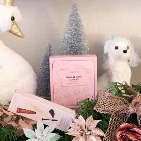 2020 Wander Beauty Holiday Gift Sets - Eye-tinerary Mascara Kit, and Baggage Claim Upgrade.