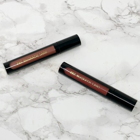 Pat McGrath Labs Liquilust Legendary Wear Matte Lipstick Divine Nude and Divine Rose